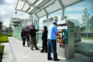 Ticket Machines at stations